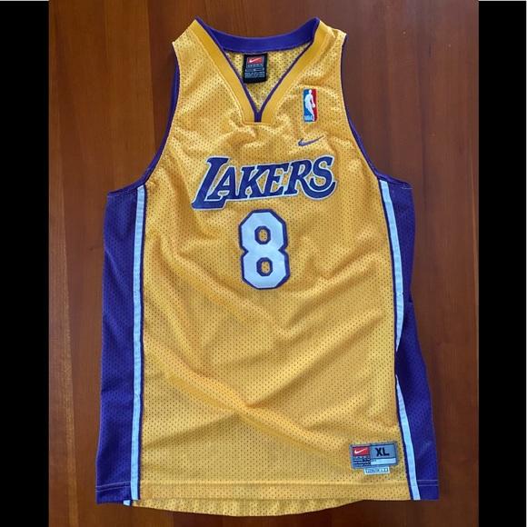 VTG Nike LA Lakers Kobe Bryant Youth XL Jersey